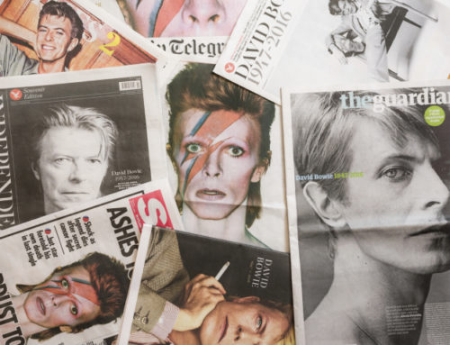 My Moment With David Bowie, A Gift of Presence