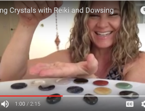 Clearing Crystals with Reiki and Dowsing