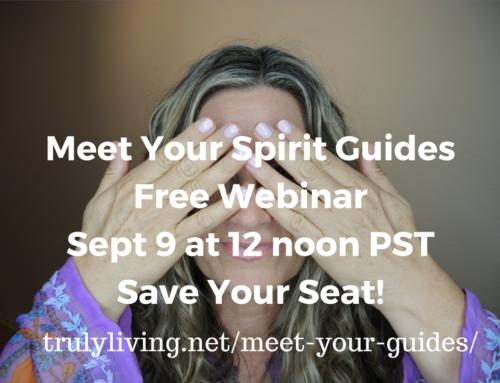 Meet Your Spirit Guides Free Webinar, Sept. 9