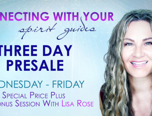 Connecting With Your Spirit Guides 3-Day Pre-Sale