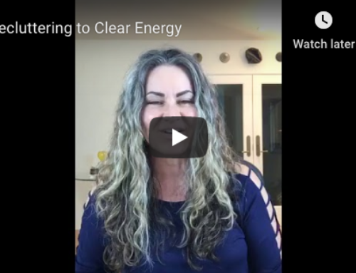Decluttering To Clear Energy