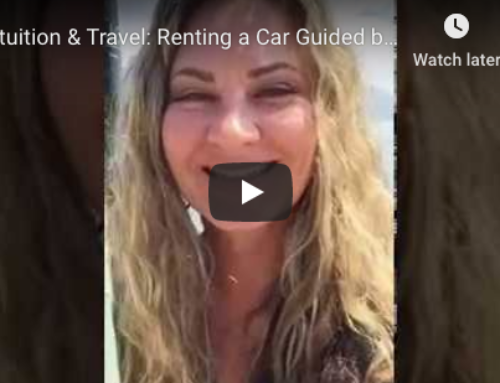 Intuition & Travel: Renting a Car Guided by Intuition