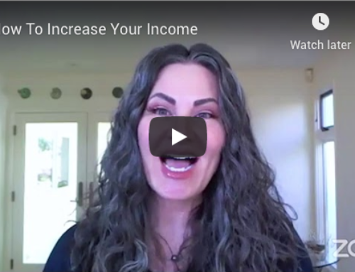 How To Increase Your Income